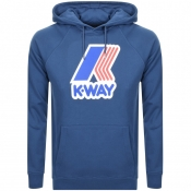 Product Image for K Way Sean Logo Hoodie Blue